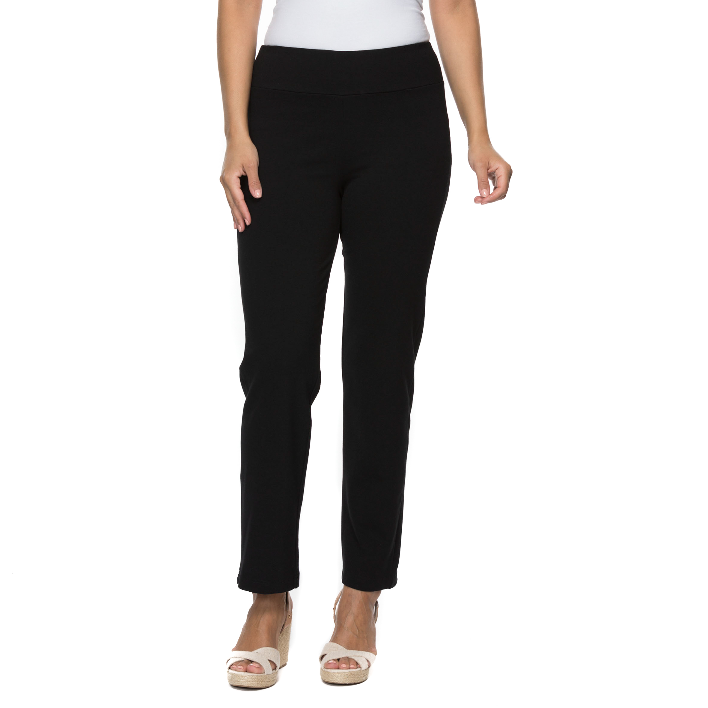 Ponte Tummy Control Pant by Threadz