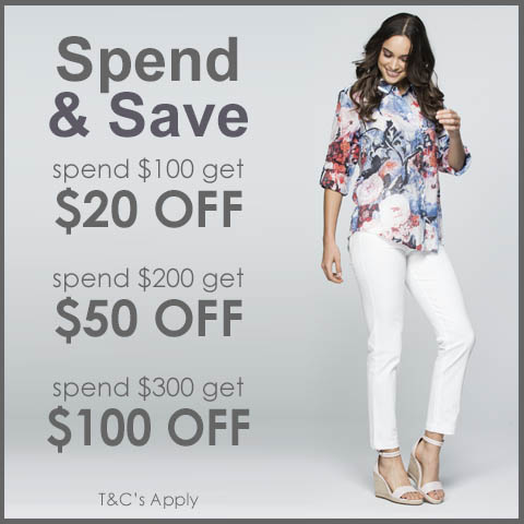 Spend & Save on New Season