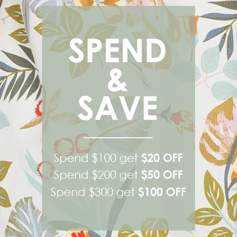 Spend & Save on NEW ARRIVALS