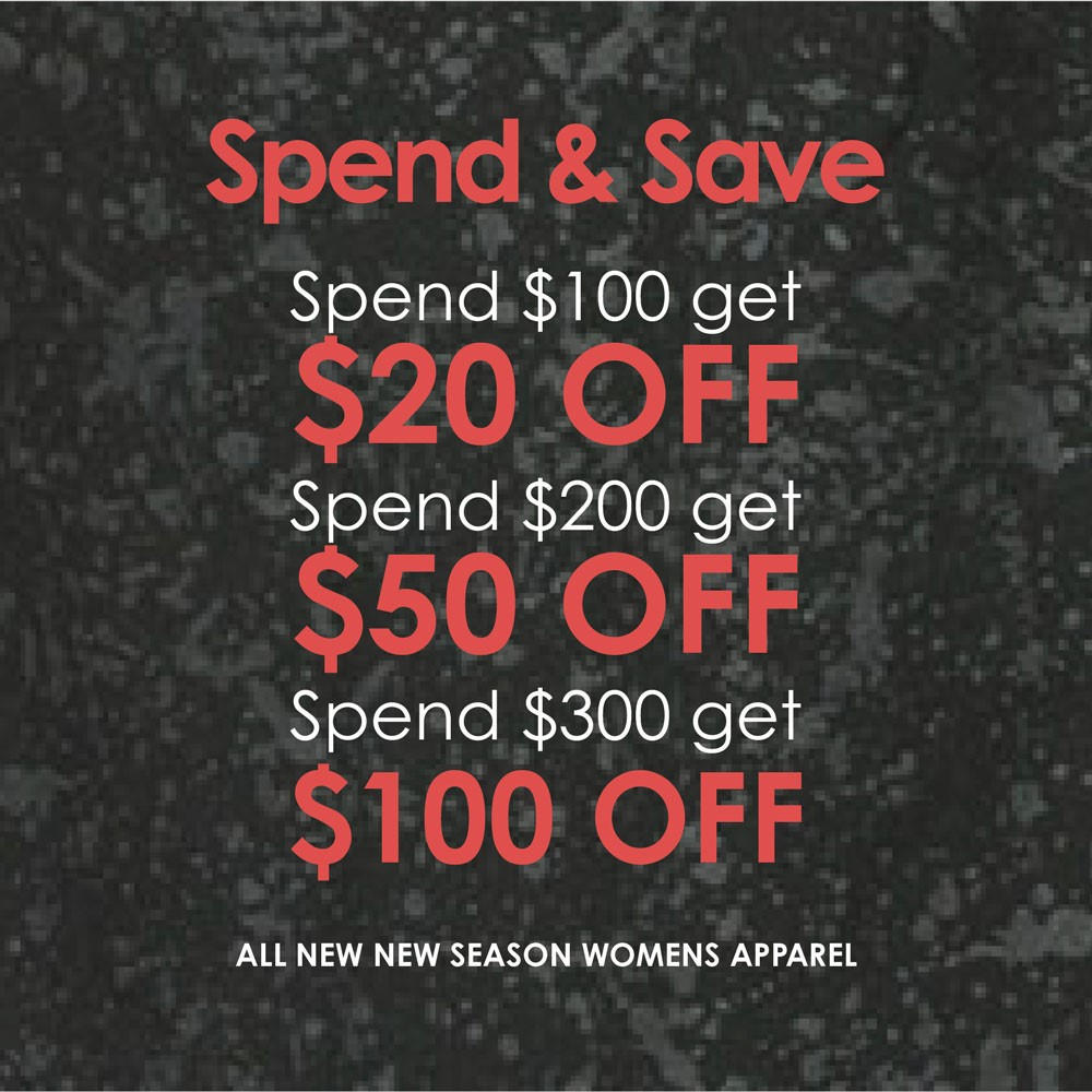 Spend & Save on NEW