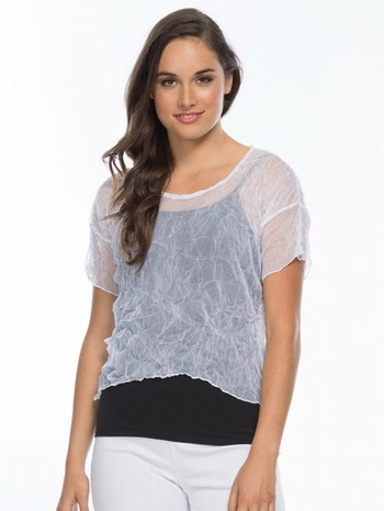 Short Sleeve Mesh Top in a Box