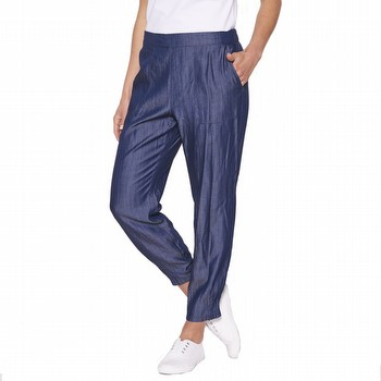 PLEAT HEM DETAIL PANT