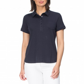 PLAIN POLO SHIRT TOP