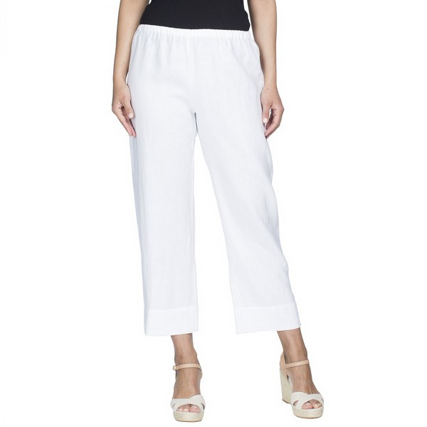 Cropped Linen Pant