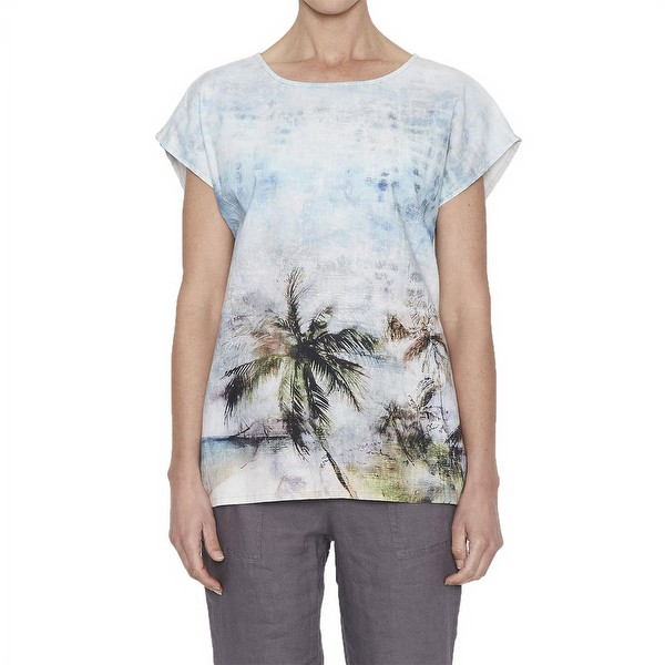 Beachside Linen Top