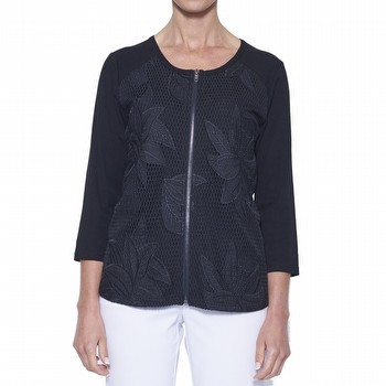 Embroidered Front Jacket | Tuggl