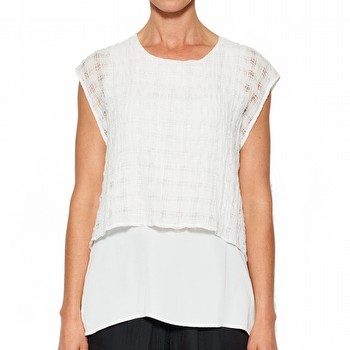 TEXTURED OVERLAY TOP