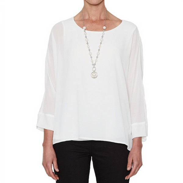 Georgette Necklace Top
