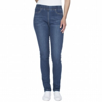 The Pull On Denim Straight Leg Jean by Threadz is a super                                                                                                        comfortable jean style pant with plenty                                                                                                                          of stretch for your everyday wardrobe. With a straight leg fit and a 5cm elastic                                                                                 waistband this pant also features faux front and side pocket top stitch                                                                                          detailing.
