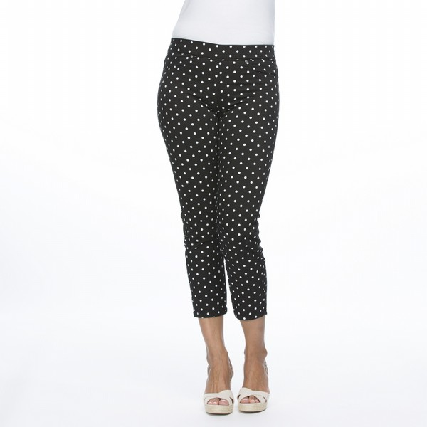 Printed Polka Dot Pants