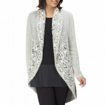 Shawl Collar Snug Cardigan