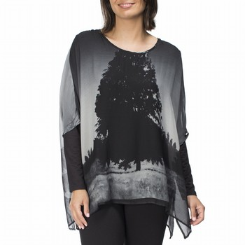 Printed Georgette Top