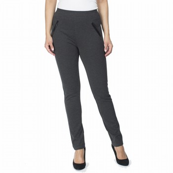Stretch Ponte Slim Pant