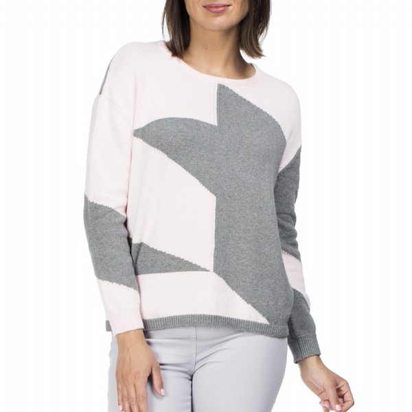 Asymmetric Cotton Knit