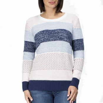 Cotton Stripe Knit