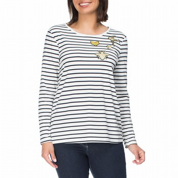Applique Stripe Tee