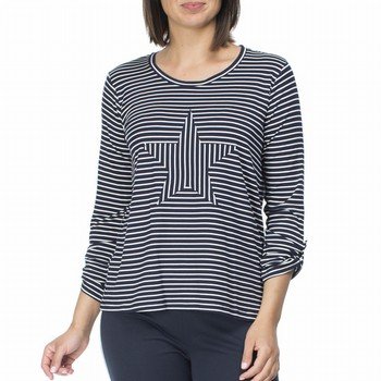 Striped Star Tee