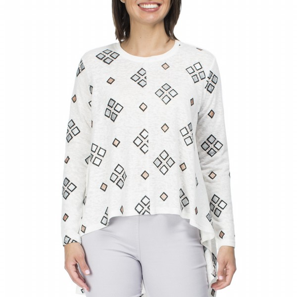 Patterned Knit Top