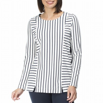 Stripe Panelled Top