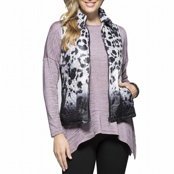 Animal Quilted Vest