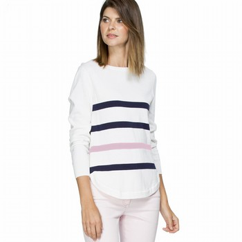 Stripe Cotton Jumper