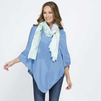 Star Cotton Poncho