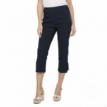 Side Tab Crop Pant