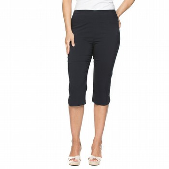 Trimmed Bengalene Crop Pant
