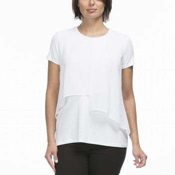 Georgette Layer Jersey Tee