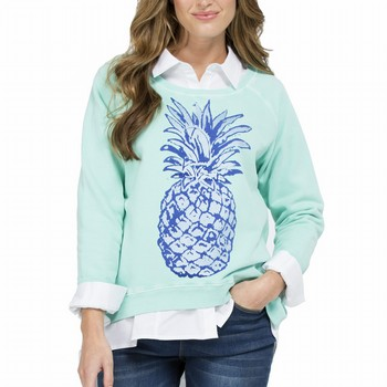 Pineapple Cotton Sweatshirt