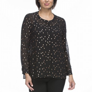 Metallic Spot Shirt