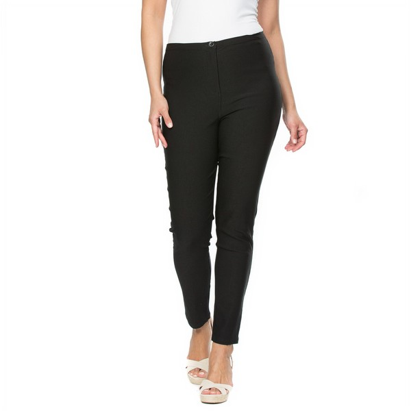 Zip Front Stretch Pant