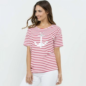 Anchor Stripe Tee