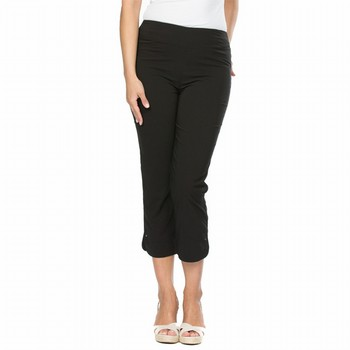 Cropped Trim Pocket Pant