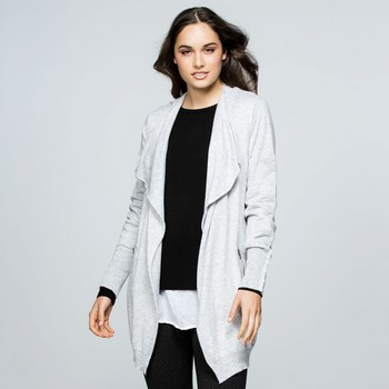 Cashmere Blend Waterfall Front Cardi