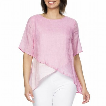 Layer Linen Top