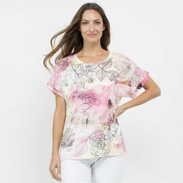 Roses & Sequins Tee