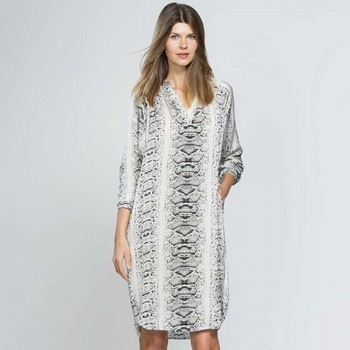 Animal Print Tunic Dress