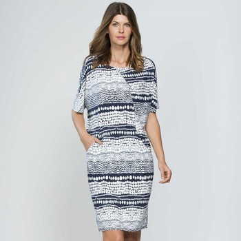 Gathered Pleat Dress