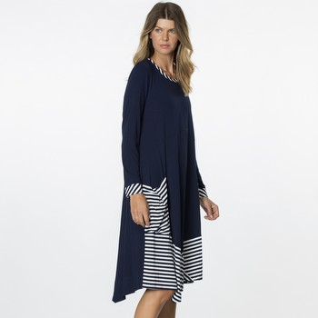 Spliced Layered Dress