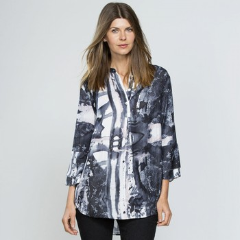 Printed Luxe Shirt