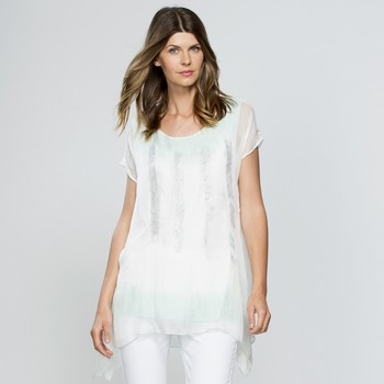 Ombre Paint Stoke Layer Top