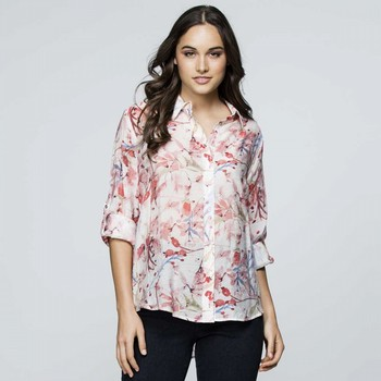 Crushed Floral Shirt