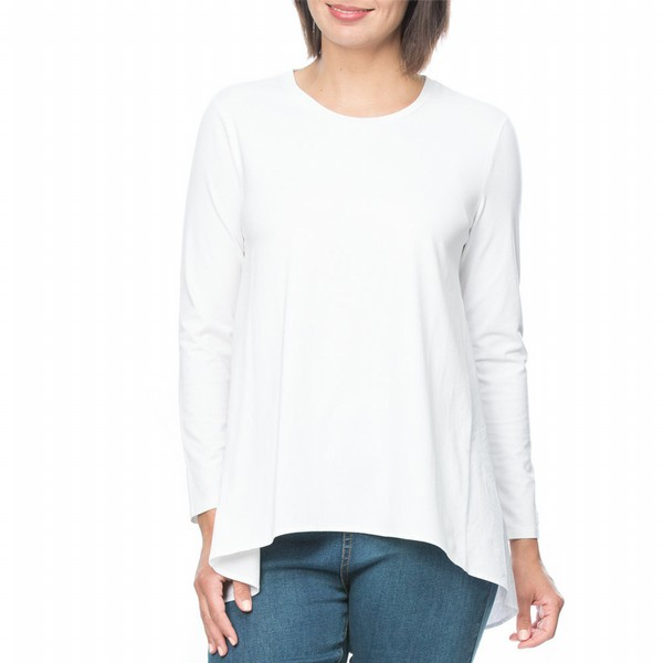 Spliced Long Sleeve Tee