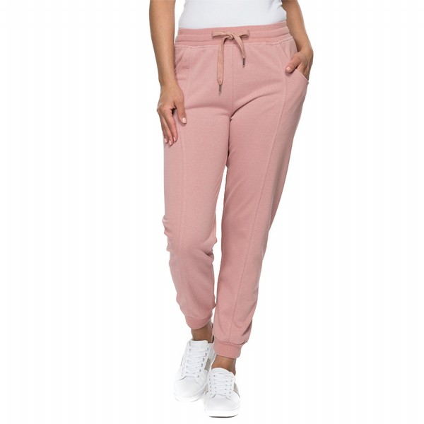 Relaxed Pull on French Terry Pant
