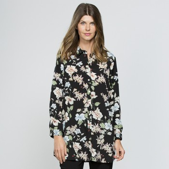Floral Button Through Shirt