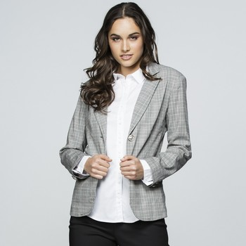 Prince of Wales Check Blazer