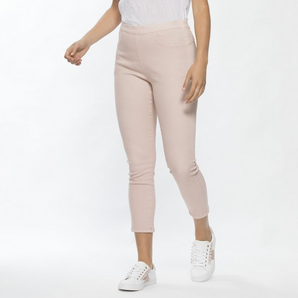 Cropped Cotton Stretch Jean