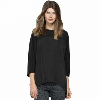 Jersey Luxe Spliced Top