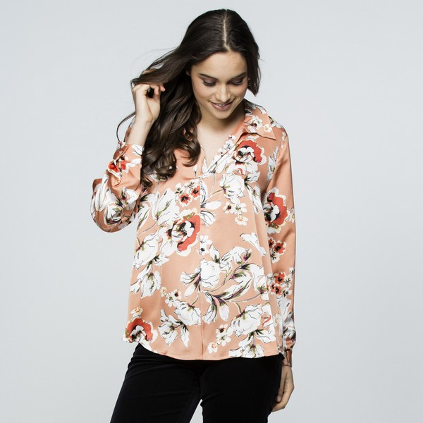 Ginger Print Tunic Shirt